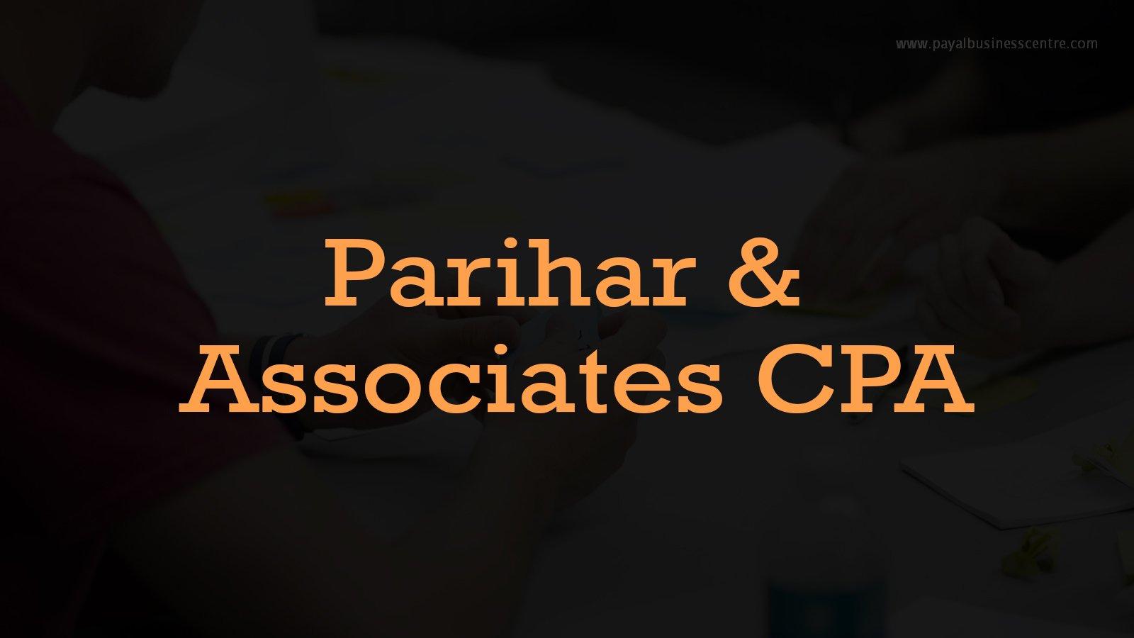 Parihar & Associates CPA