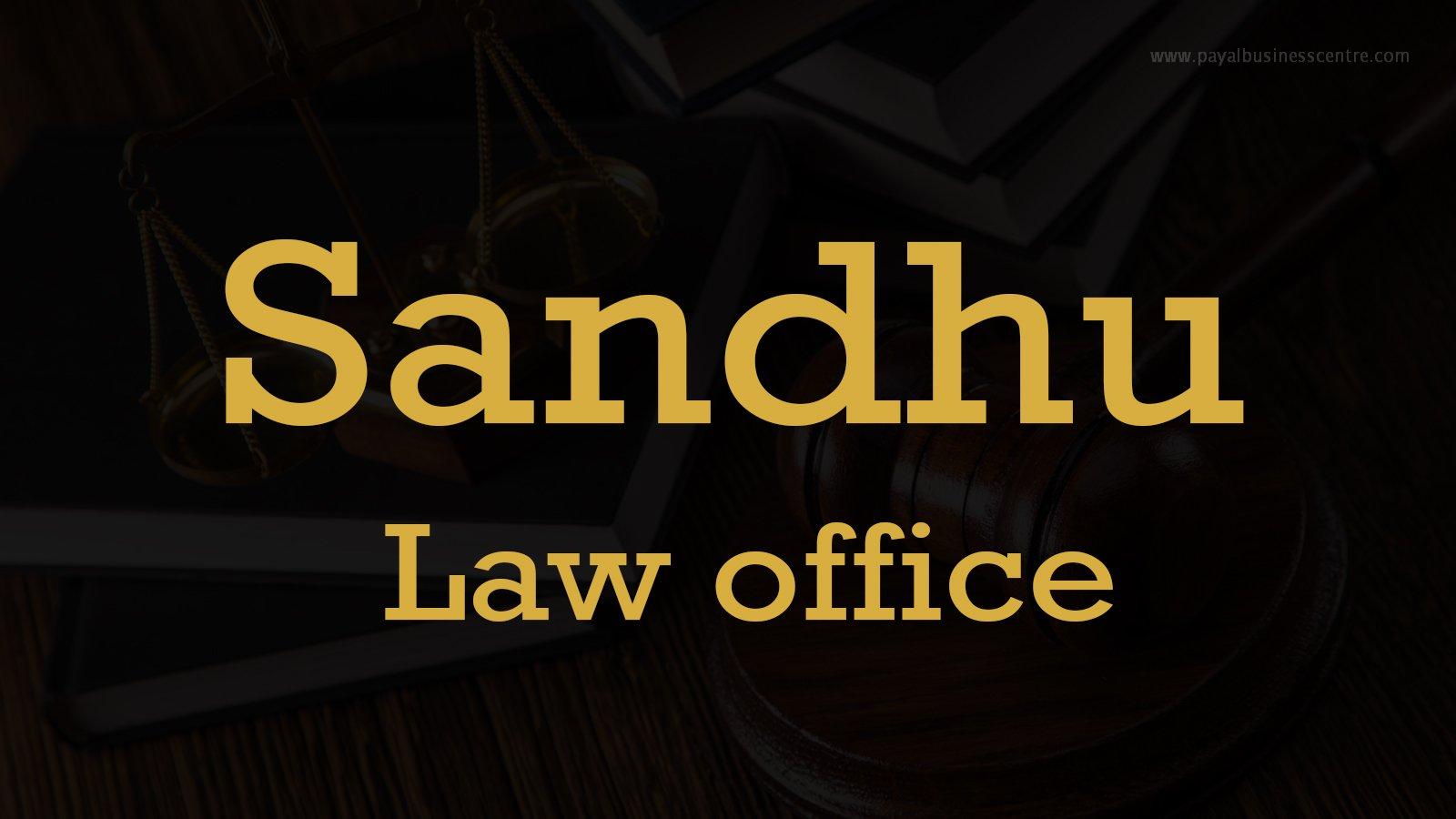 Sandhu Law office - Lawyers - 8128 128 St