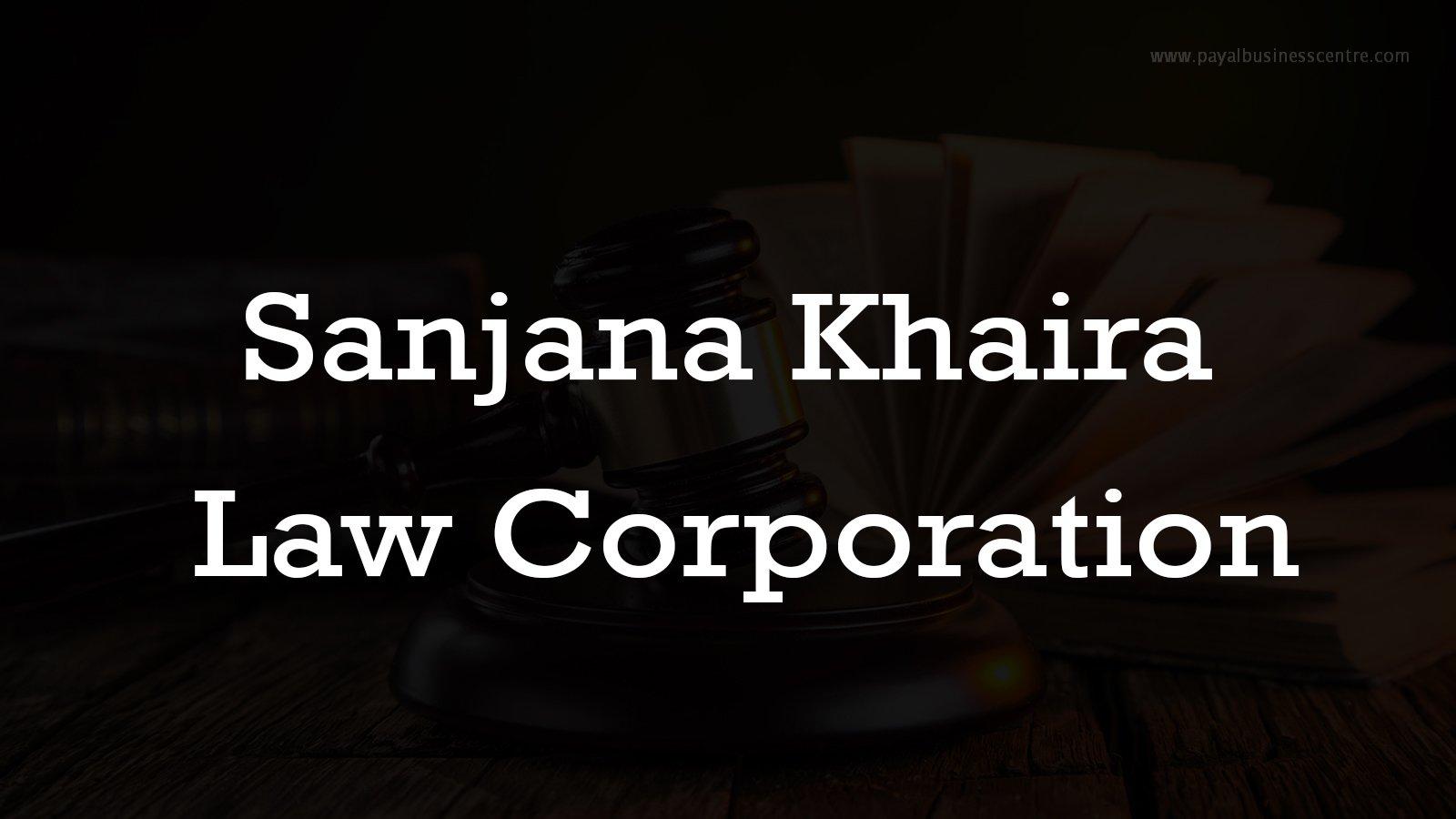 Sanjana Khaira Law Corporation - Lawyers - 3665 Kingsway St #300
