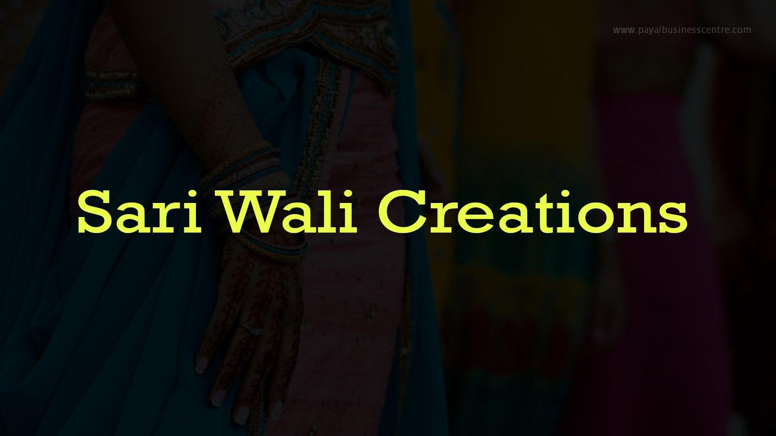 Sari Wali Creations