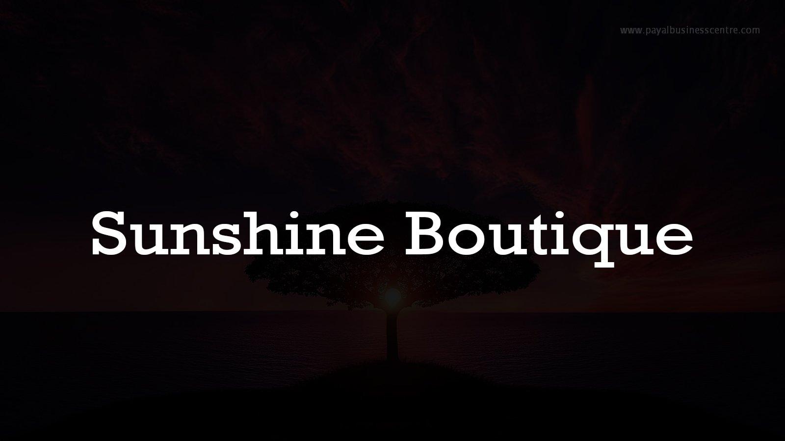 Sunshine Boutique - Clothing - 8128 128 St V3W 1R1 Surrey