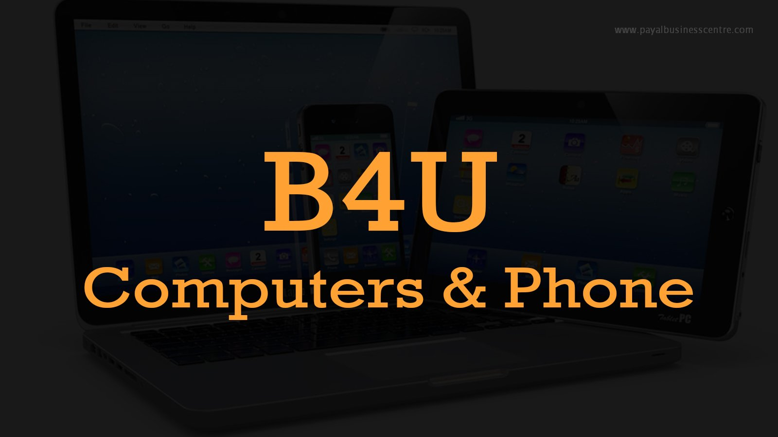 B4U Computers & Phone