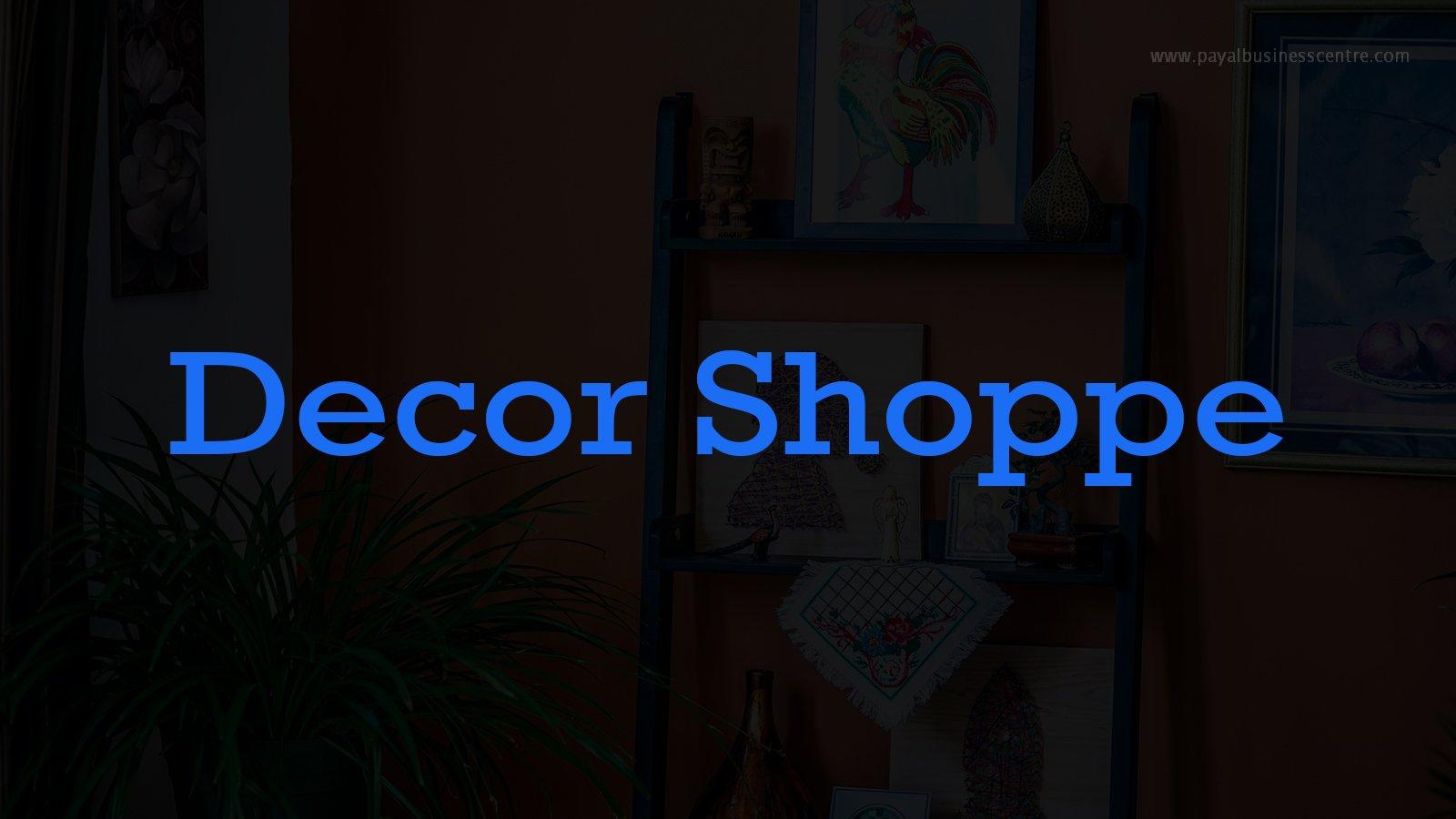 Decor Shoppe