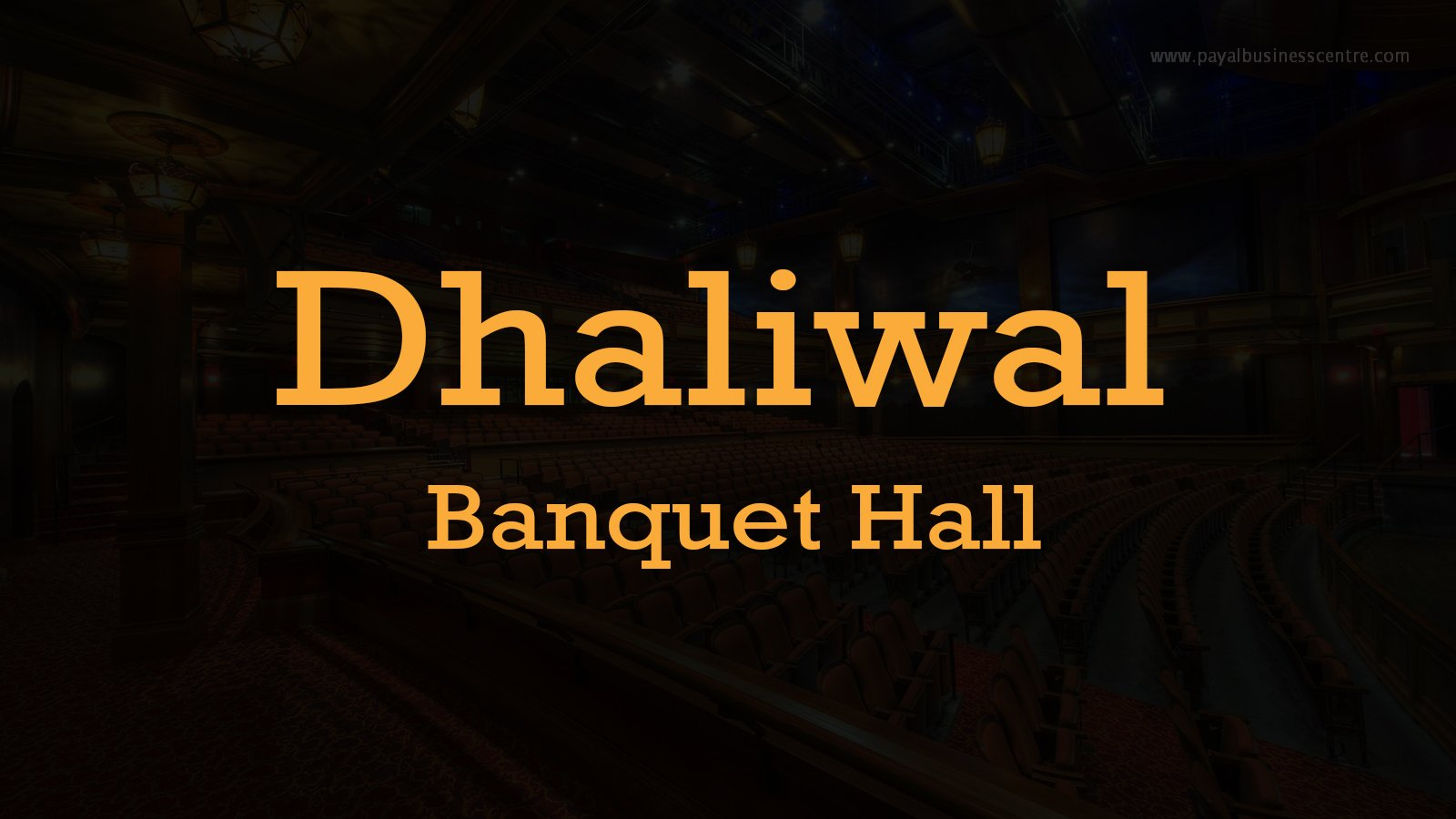 Dhaliwal Banquet Hall - Banquet Halls - 8166 128 St