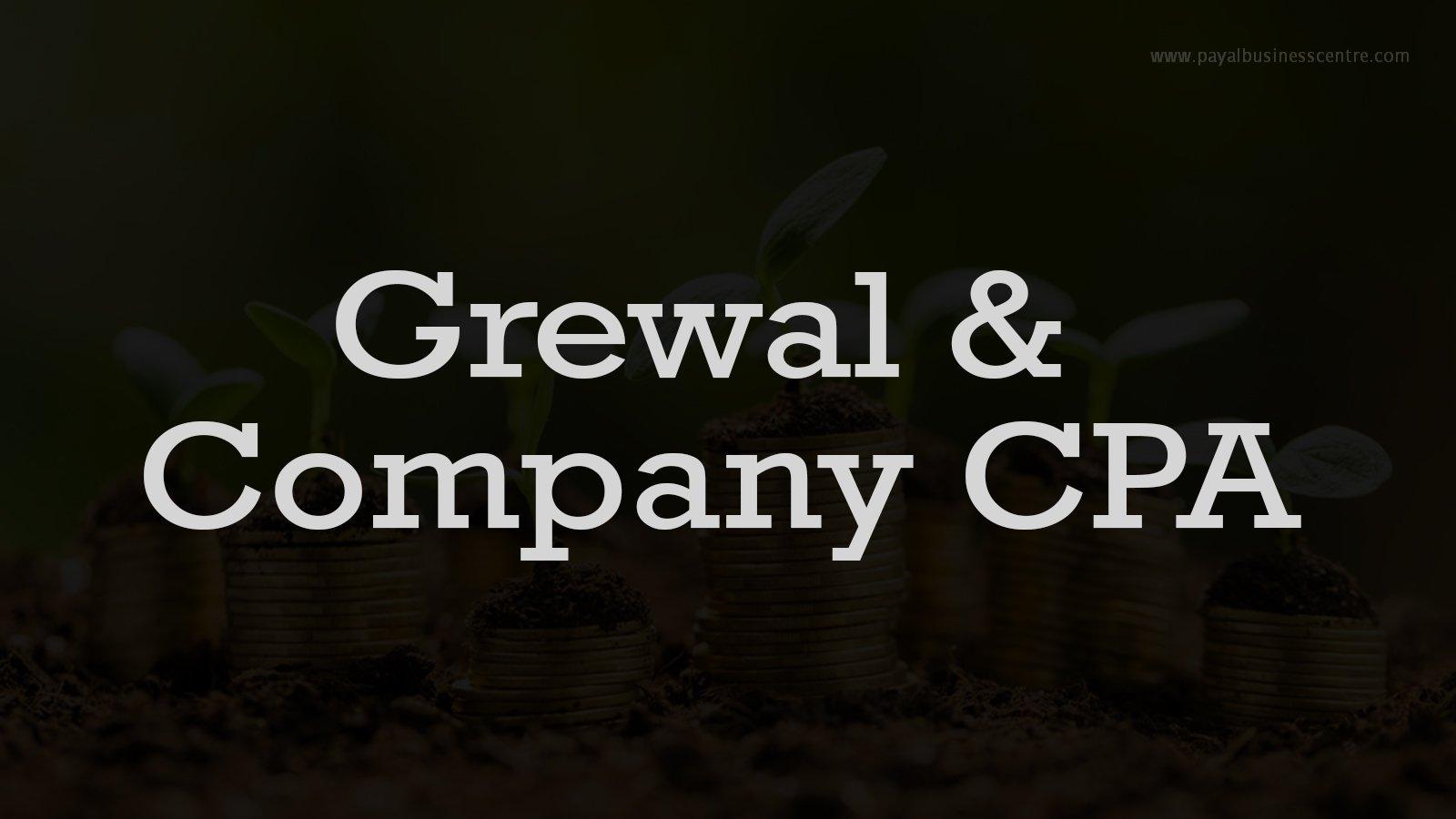 Grewal & Company CPA