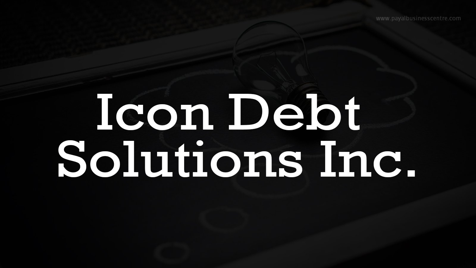 Icon Debt Solutions Inc. - Finance - 8128 128 St