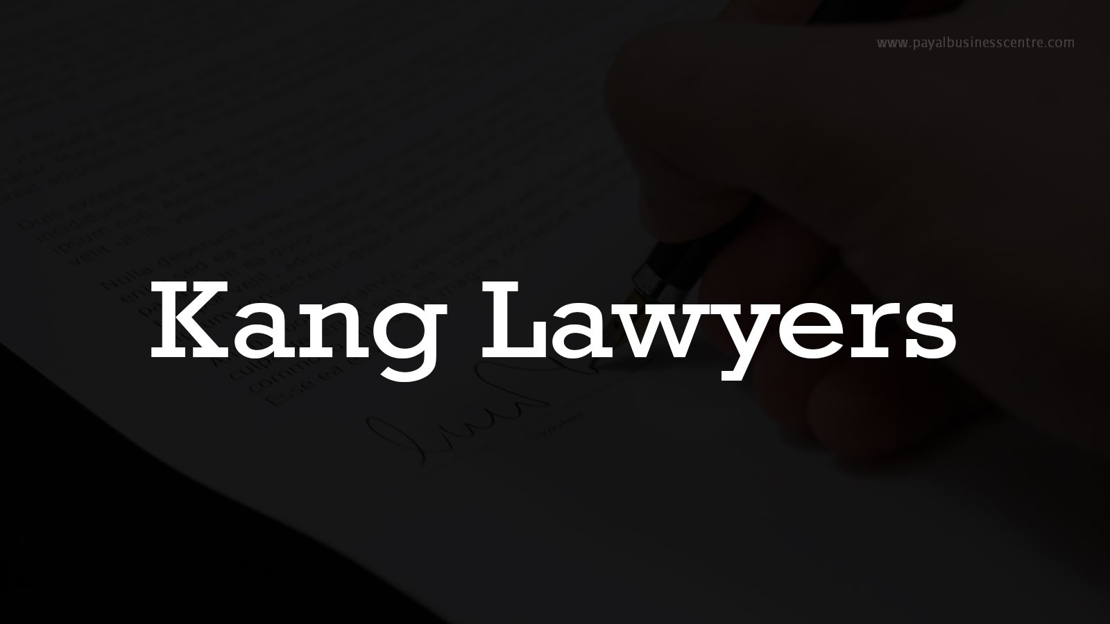 Kang Lawyers - Lawyers - 12885 80 Ave