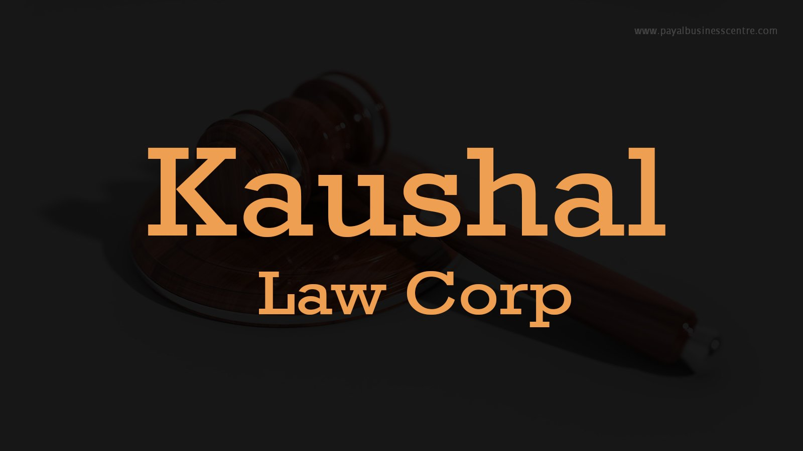 Kaushal Law Corp
