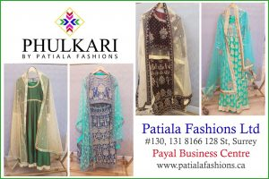 Patiala Fashions Ltd - Clothing - 8166 128 St
