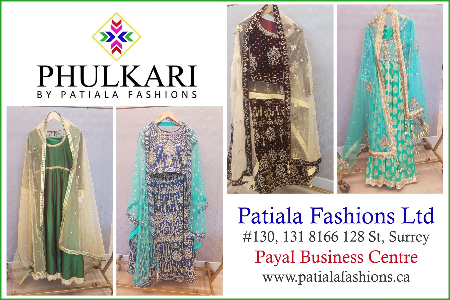 Patiala Fashions Ltd – Unit 130, 8166