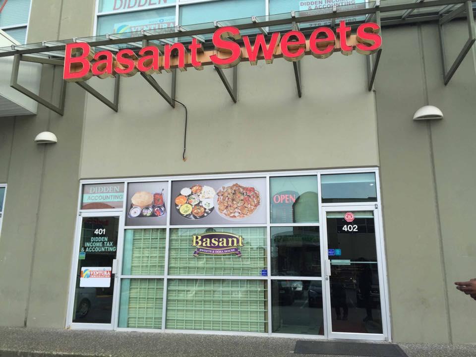 Basant Sweets – Unit 402, 8148
