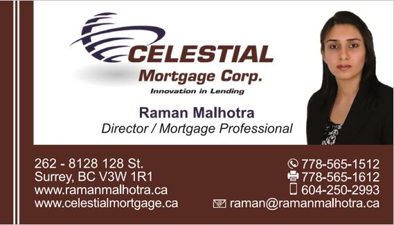 Celestial Mortgage Corp.
