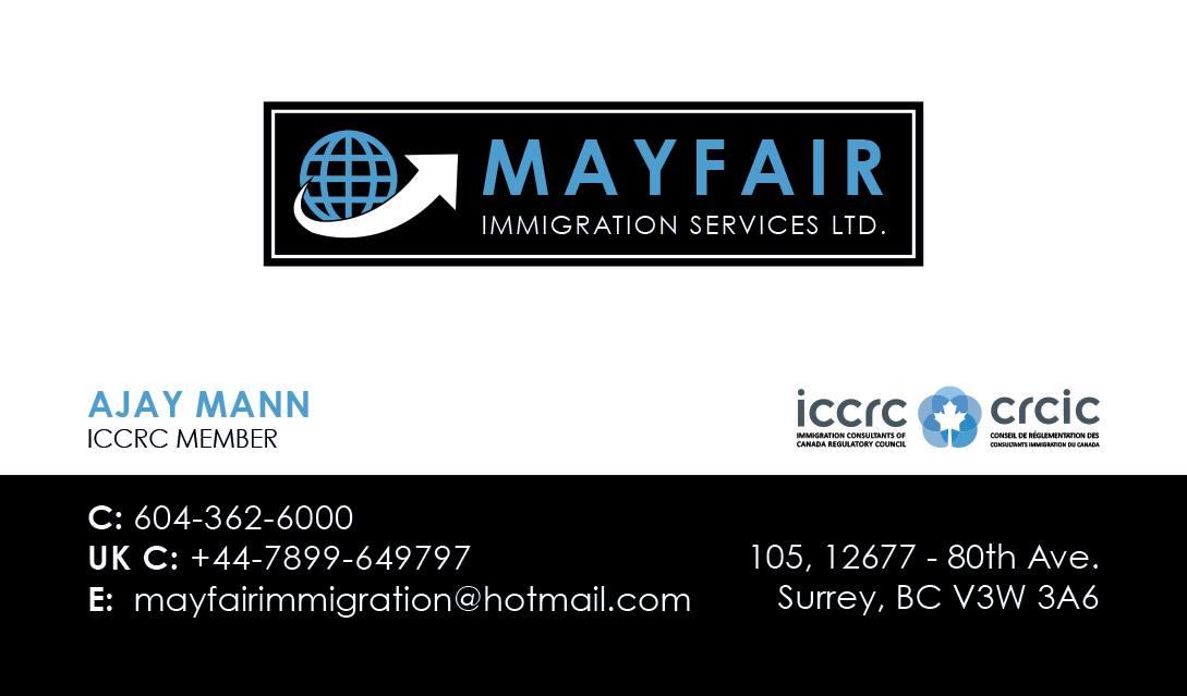 Mayfair Immigration Services Ltd.