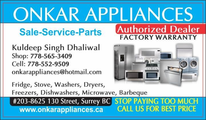 Onkar Appliances