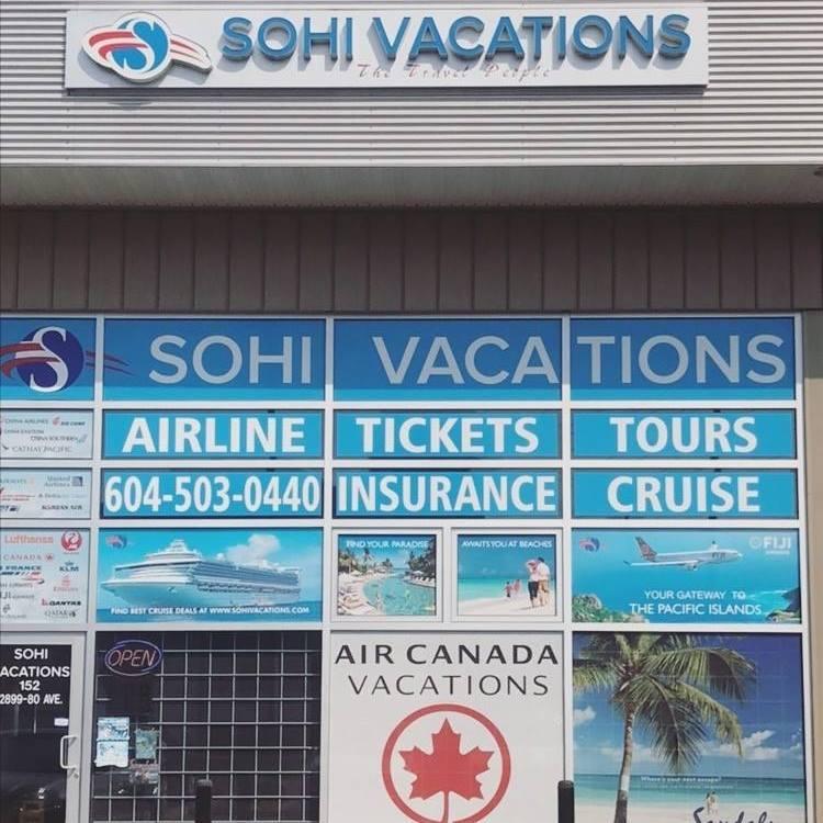 Sohi Vacations