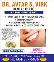 Dr. Avtar Virk Dentist
