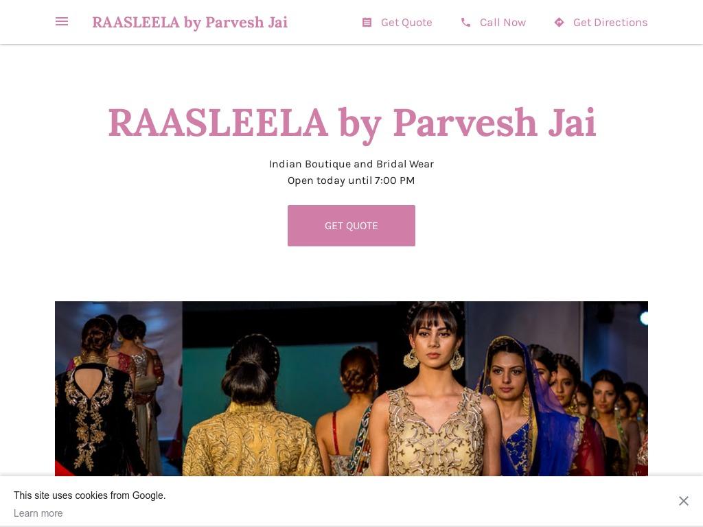 Raasleela by Parvesh Jai